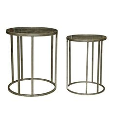 Iron Round Table Set of 2 - Complete Pad ®