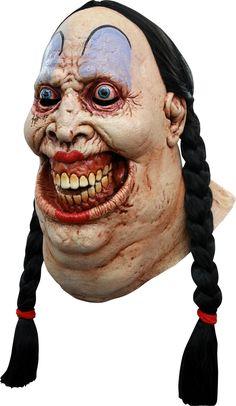 Ce masque en latex effrayant de femme obèse est idéal pour ne pas passer inaperçu à l'occasion d' Halloween ou pour une événement déguisé. Adulte Halloween, Masque Halloween, Halloween Face Makeup, Zombie Mask, Beer Girl, Maquillage Halloween, Masks For Sale, Fat Women, Halloween Horror