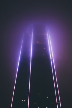 Alien abduction vibes?   CHASING THE LIGHT — cyberph0nk:   cityscape  cyberph0nk    glow blog ▲