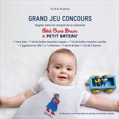 Concours Petit Ours Brun x Petit Bateau