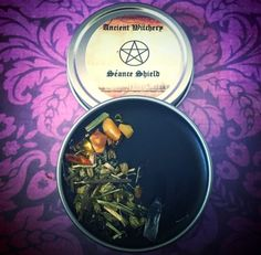SEANCE RITUAL SALVE SUMMONS SPIRITS FROM THE BEYOND UNVEILING SHIELD PROTECTION