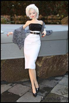 https://flic.kr/p/rBuRZE | Marilyn Monroe | Body Lovely Doll Head World Doll