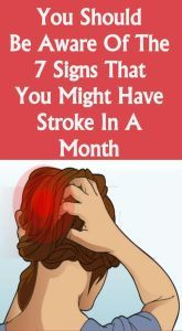 You should be aware of the 7 signs that you might have stroke in a month - Healthy Lifestyle Tips Health And Wellness, Health Tips, Health Care, Health Fitness, Wellness Tips, Women's Health, Nutrition Tips, Health Benefits, Fitness Tips