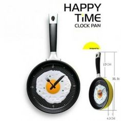 It's actually a clock, the perfect match for the kitchen.