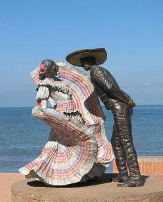 Art work on Malecon in Puerto Vallarta