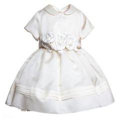 Vestiti battesimo bimba bianco e blu