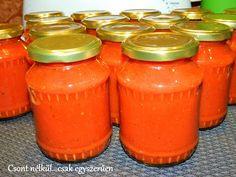 Csont nélkül...csak egyszerűen: Sült paradicsomszósz Mason Jars, Food, Eten, Canning Jars, Meals, Glass Jars, Jars, Mason Jar, Diet
