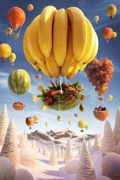 음식으로 만든 상상의 세계 푸드스케이프를 보라(사진)