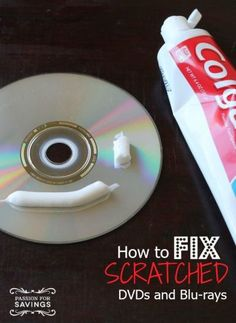 How to Fix a Scratched DVD or Blu-ray! DIY tips you want to know!