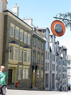 Style de l'architecture Française en la Ville de Québec.  /  Just for the sake of it...: Quebéc - Friendly New France