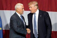 Trump Chooses Pence as His Presidential Running Mate | 코리일보 | CoreeILBO