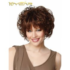 10year cosplay disney princess short bud style synthetic hair 10year womens short synthetic wig wavy hair extensions pmusecretfo Gallery