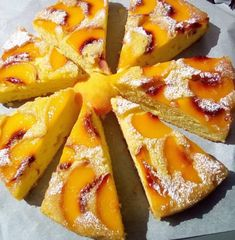 Greek Sweets, Greek Desserts, Greek Recipes, Baked Pasta Dishes, Sweets Cake, No Bake Cake, Food And Drink, Healthy Eating, Cooking Recipes