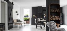 Nord House: puro stile nordico in bianco e nero