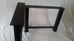 Metal H-Frame Table Legs by BaseMetalDesign on Etsy