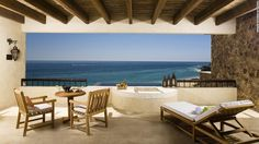 Sandwiched between the mountains and ocean on the southernmost tip of Mexico's Baja Peninsula, this Spanish Colonial resort has the best address in Cabo San Lucas.
