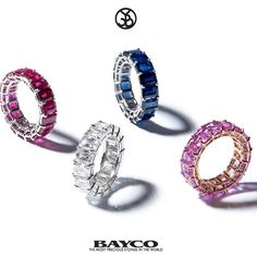 """Mi piace"": 931, commenti: 17 - Bayco Jewels (@baycojewels) su Instagram: ""Wishing you eternal love, celebrated on this most romantic of days with Bayco eternity bands ❤️"""