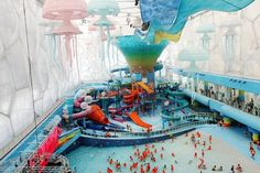 Happy Magic Water Cube China (formerly Olymic Swimming Pool)  Bizarre waterpret in Reiskrant.nl van De Telegraaf