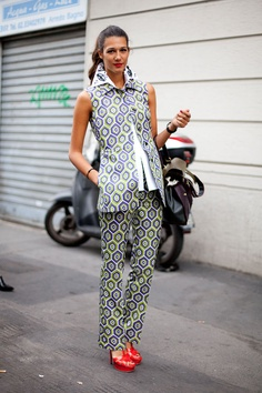Street Fashion - Milan Fashion Week