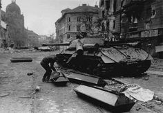 Russian Imperialism: The Soviet Invasion Of Hungary: 1956 World Of Tanks, Budapest Hungary, Budapest City, Pictures Images, Bing Images, Vietnam War, Cold War, Historical Photos, Military Vehicles