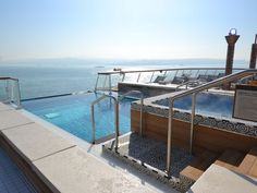 The Infinity Pool at the back of the new Viking Star: Hate nickel-and-diming? This new cruise ship is for you!