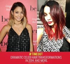 Dramatic Celeb Hair Transformations In 2014. And More.