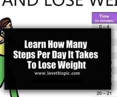 Learn How Many Steps Per Day It Takes To Lose Weight