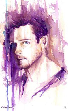 160814 by AkiMao on DeviantArt Teen Wolf Fan Art, Teen Wolf Dylan, Peter Hale, Wolf Painting, Werewolf, Art Blog, My Drawings, Stiles, Cool Art