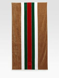 My next beach towel purchase.....Gucci....you can't go wrong.