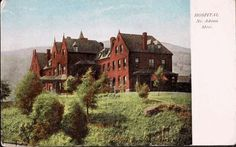 North Adams, Berkshire, Massachusetts, USA - Hospital. No. Adams, Mass.