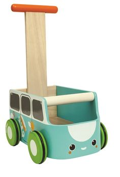 Amazon.com: Plan Toys Van Walker, Blue: plan toys: Baby