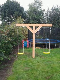 Things to Consider before Making Kids Playground Design Backyard Swing Sets, Backyard For Kids, Backyard Projects, Outdoor Projects, Kids Yard, Play Yard, Playground Design, Backyard Playground, Playground Ideas