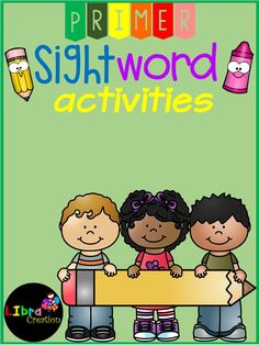 Sight Word Activities Primer