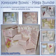 Craft Ideas / keepsake box card