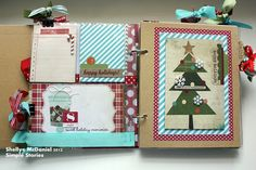 Papered Cottage by Shellye McDaniel: A SN@P December Daily