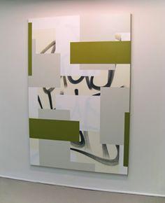 Karlos Carcamo. Hard Edge Painting (Stay High), 2011