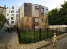 Built by SOA Architectes in Paris, France with date 2012. Images by Cyrille Weiner. The site of the transition house and social housing units on rue des Thermopyles encapsulates the district's overall ...