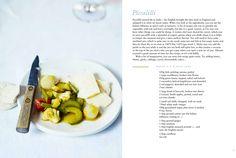 Recipe Spread, Vanilla Black Piccalilli, Vanilla, Fruit, Vegetables, Recipes, Black, Food, Black People, Recipies