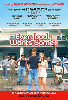 「everybody wants some」の画像検索結果