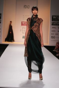 Kiran Uttam Ghosh @ Wills Lifestyle India Fashion Week Mar 2014