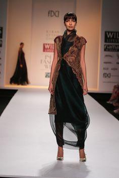 Kiran Uttam Ghosh @ Wills Lifestyle India Fashion Week Mar 2014