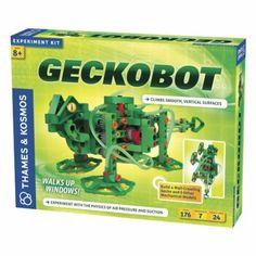 Geckobot Wall Climbing Robot Kit (176 Pieces)