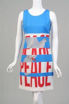 Franco Moschino Peace Dress