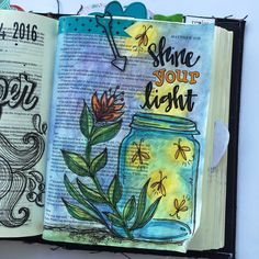 Bible Journaling  by @kristenwolbach                                                                                                                                                                                 More