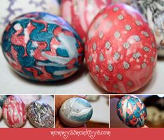 How To: Decorate Easter Eggs with Silk Ties!