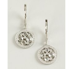 Tiffany & Co. Tiffany & Co. platinum and diamond 'Garden Cobblestone' earrings