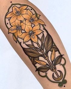Unique Tattoos, Beautiful Tattoos, Cool Tattoos, New Tattoos, Tatoos, Botanisches Tattoo, Body Art Tattoos, Sleeve Tattoos, Art Nouveau Tattoo