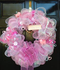 Baby Girl Wreath!!