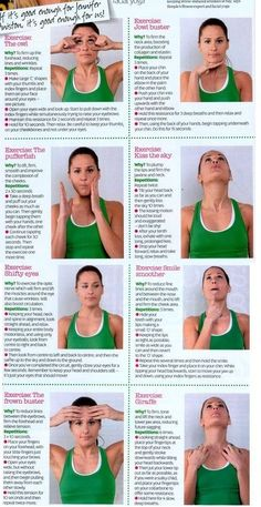 Facial Yoga start now so in ten years there are no worries Why not?