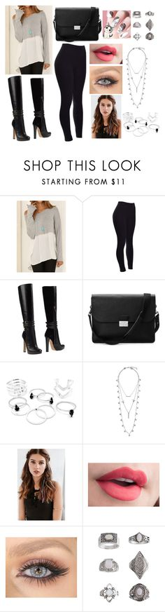 """""""Sem título #970"""" by clariinhafloor on Polyvore featuring moda, Dsquared2, Aspinal of London, Lucky Brand, REGALROSE e Topshop"""